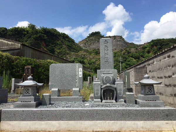 新しくお墓を建立 池田町のお客様より