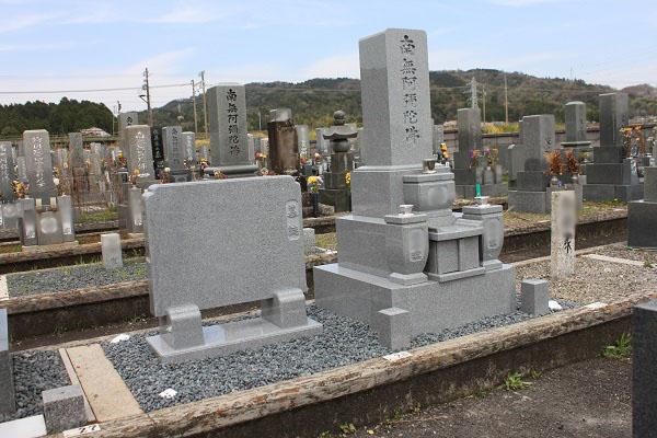 大垣市青野霊園でお墓リフォーム工事