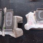 墓石の家紋・家名彫刻