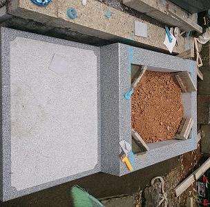 外柵設置工事3