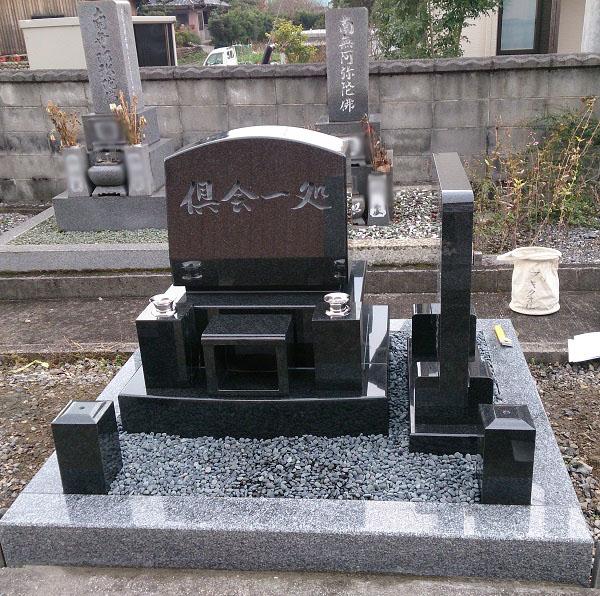 大垣市 慶円寺墓地 新規建立例10