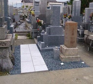大垣市 割田・外花・外野共同墓地 お墓リフォーム後