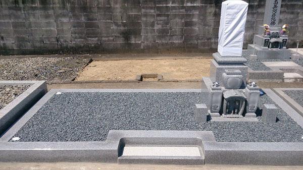 大垣市 枝郷墓地 お墓建て替えリフォーム