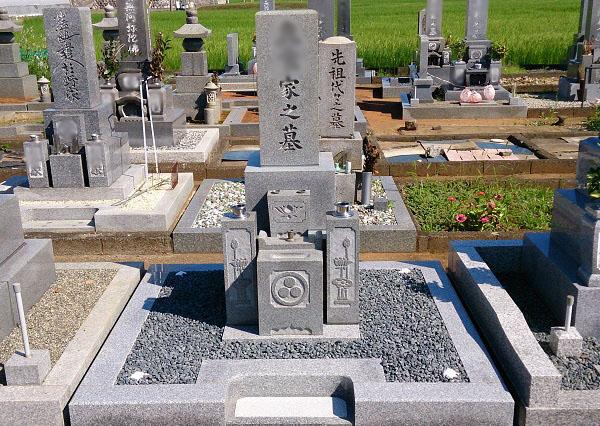 神戸町柳瀬墓地 お墓クリーニング・リフォーム