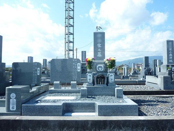 神戸町下宮墓地 お墓建立