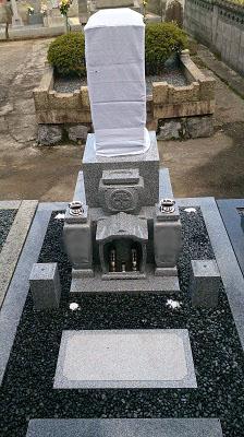 大垣市 新開発町墓地 お墓建立