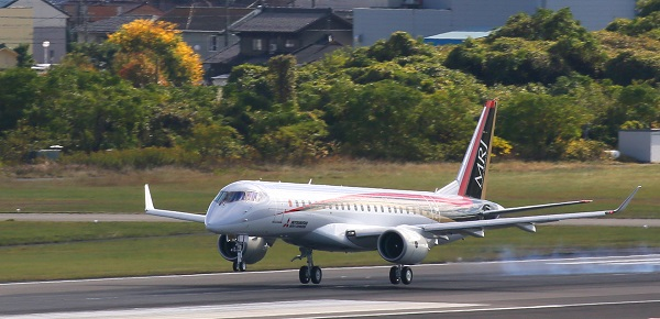 all-new-mrj-first-flight