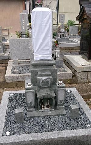 垂井町 蓮明寺墓地 新規建立例8