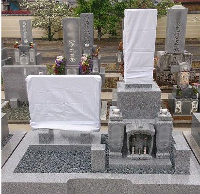 大垣市 西圓寺墓地 お墓移転・建て替えリフォーム