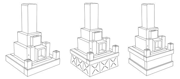 お墓の構造と工事費