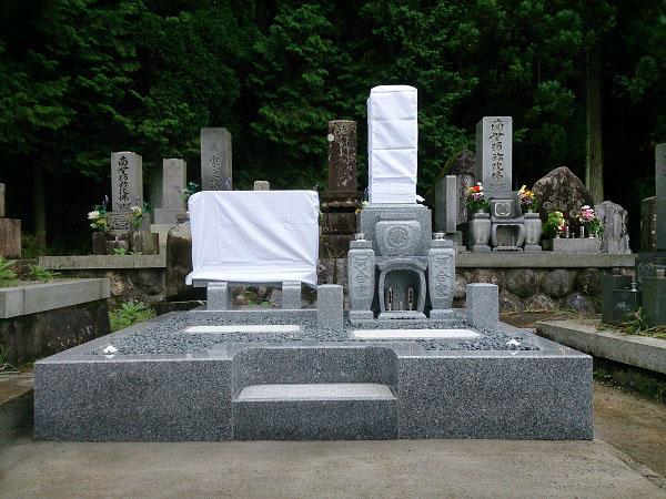 関ケ原市 河合様のお墓リフォーム 工事完了後
