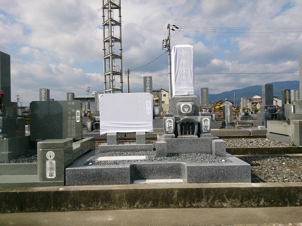 中井様のお墓工事 工事完了