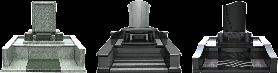 ちょっとオシャレな洋型墓石