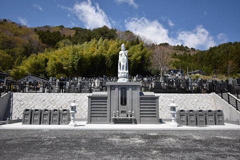 永代供養墓 完成